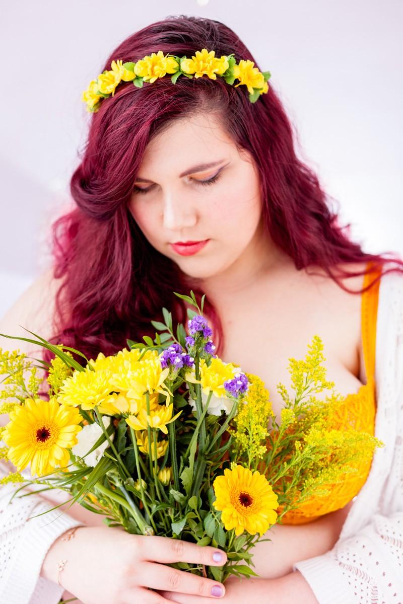 lingerie, soutien gorge, grande taille, dentelle, aubade, bahia, papaya, couture, confiance en soi, soutien gorges, champetre, délicat, fleurs, curvy, body positive, grand bonnet, glamuse