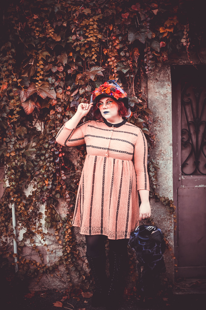 ninaah bulles, sorcière, costume, grande taille, plus size, eva trends, halloween, blog, ronde, witch