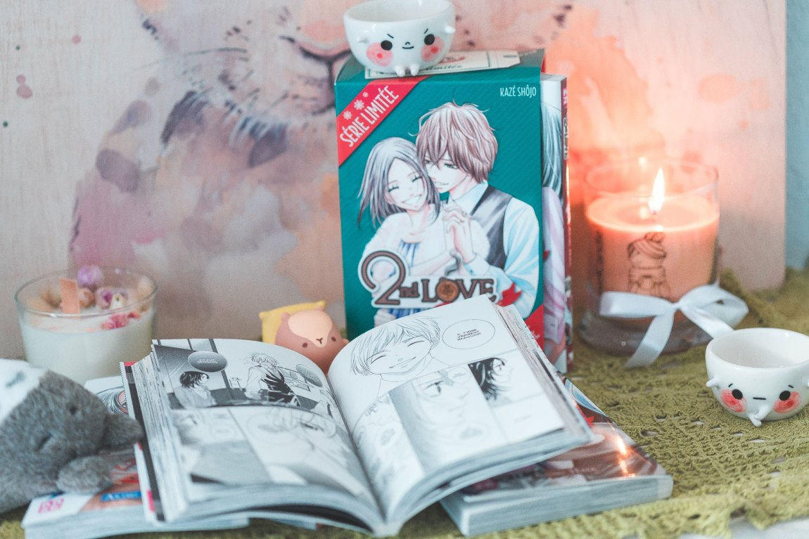 2nd Love Once upon a LIE, Kazé, HATA Akimi, manga, lecture, lifestyle, josei, divertisment, ninaah bulles