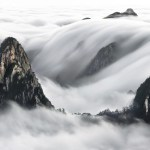 view post Sea Clouds of yellow Mountains