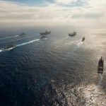 view post USS John C. Stennis (CVN 74) and USS Ronald Reagan (CVN 76) conduct dual carrier strike group operations