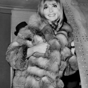view post Actress Sharon Tate arriving at JFK in New York.