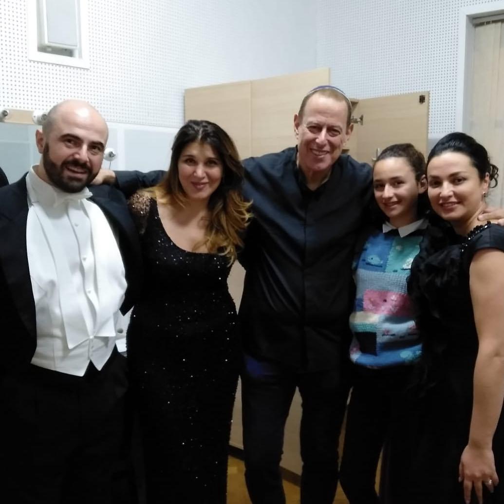 Concert in Tblisi with Daniel Oren and Nino Surguladze
