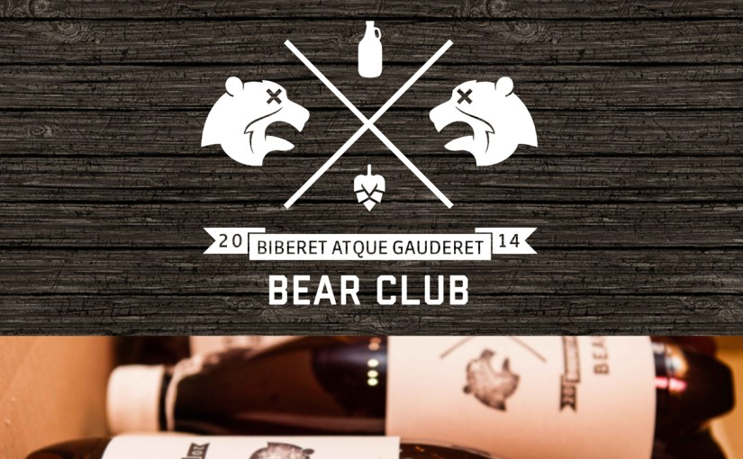 Current homepage for the Bear Club beer subscription service