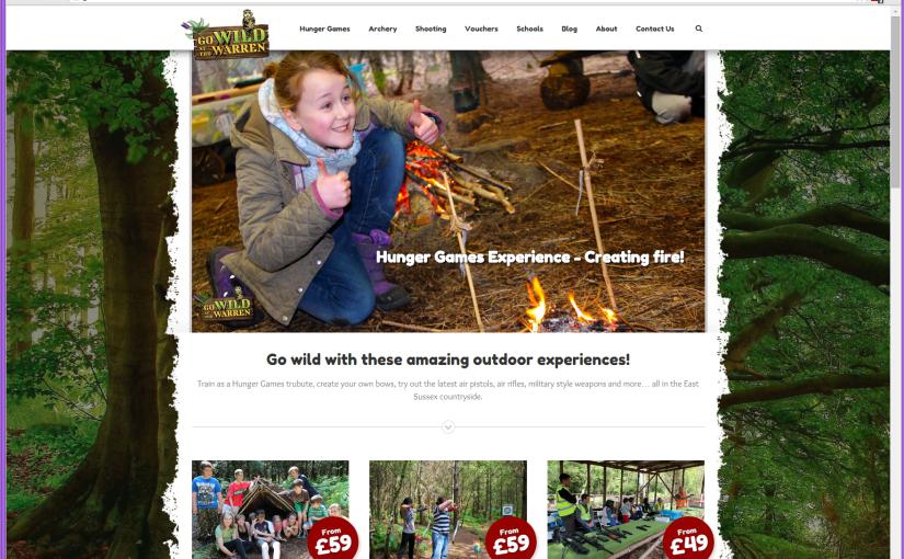 New outdoor activities WordPress website goes live!