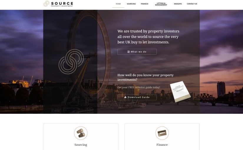 Source Investments Home Page