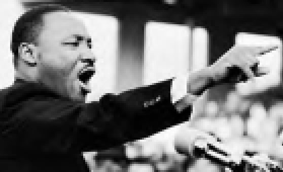Martin Luther King pixelado
