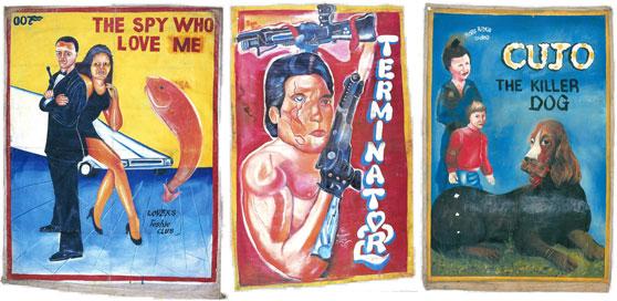 Posters alternativos en Ghana