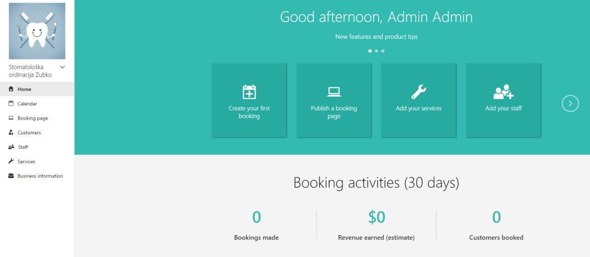 bookings-menu