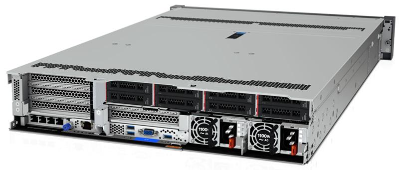 Lenovo ThinkSystem SR650 V2 rear panel