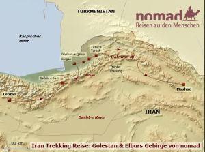 Nachhaltig reisen in Iran: TREKKING REISE: GOLESTAN & ELBURS GEBIRGE