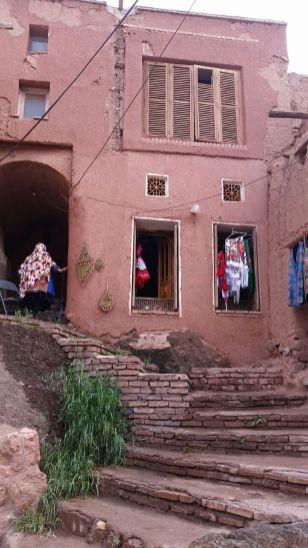 Dorfszene in Abyaneh