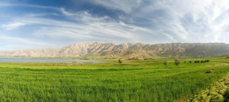 Iran, Cheghakhor See im Zagros-Gebirge