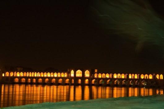 Iran, Die Khaju-Brücke in Isfahan