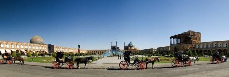Panoramabild in Isfahan