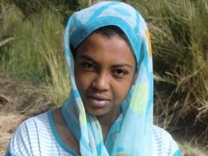 Sudan: Portrait einer Sudanesin