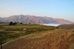 Iran: Camp im Elburz Gebirge