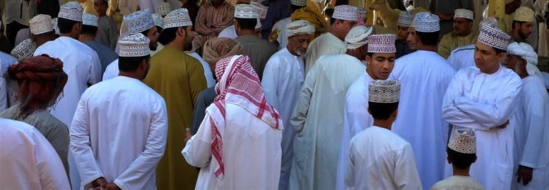 Oman: Nizwa Tiermarkt