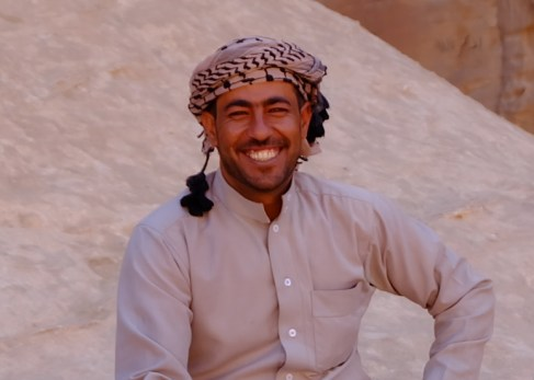 Kamelführer Ibrahim