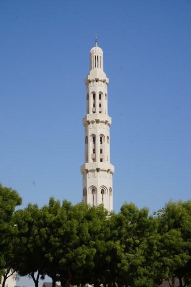Turm der Sultan Qaboos Moschee