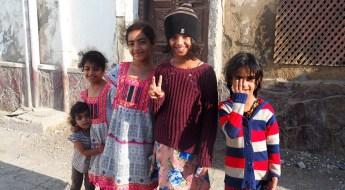 Freundliche Kinder