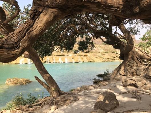 Wasserfall Wadi Shuwaymiah