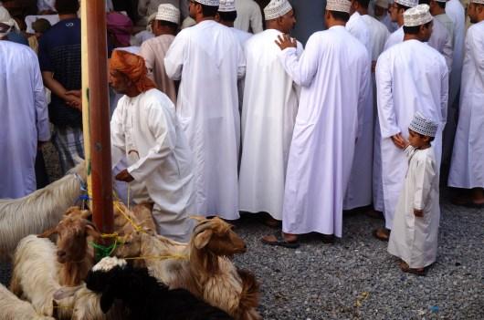 Traditionelle Kleidung im Oman