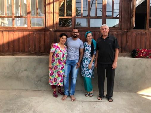 Gastfamilie in Boysun