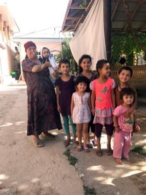Familie in Boysun
