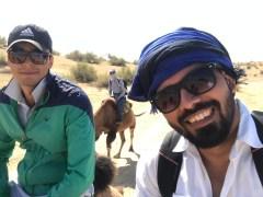 Wüstenbegeiterte Team
