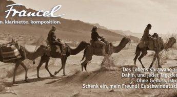 Goethes Persische Reise musikalisch umgesetzt durch Quadro Nuevo mit Hilfe von nomad