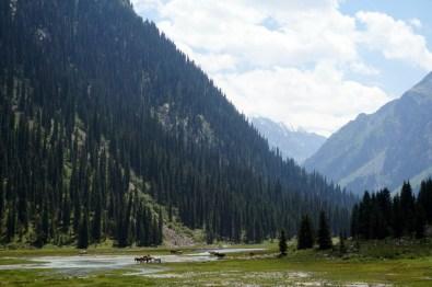 Sommerzeit in Kirgistan