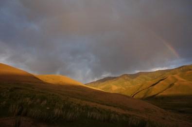 Regenbogen nach dem Gewitter