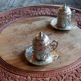 Tee zum Empfang in der Unterkunft auf dem Jebel Shams