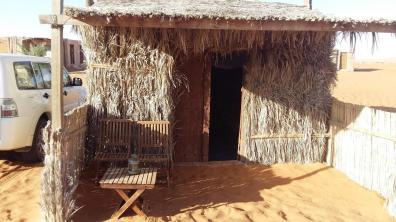 Unterkunft in der Wüste
