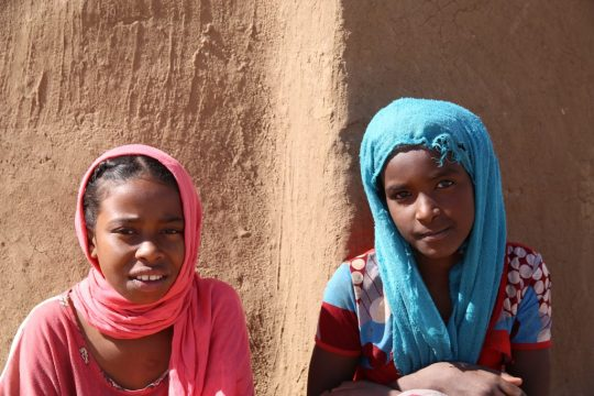 Mädchen Sudan