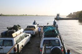 Überfahrt auf dem Nil
