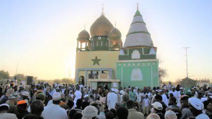 Menschenmenge Sudan