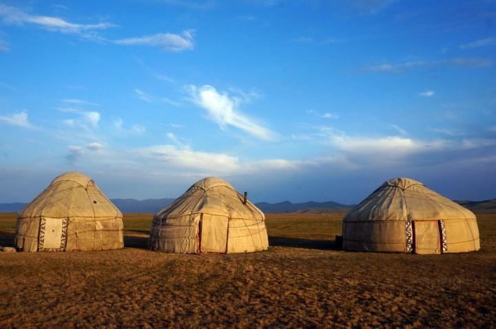 Rundreise Kirgistan - Übernachtung in Yurten