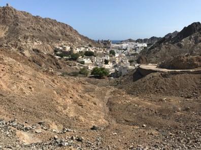 Blick auf alt-Muscat