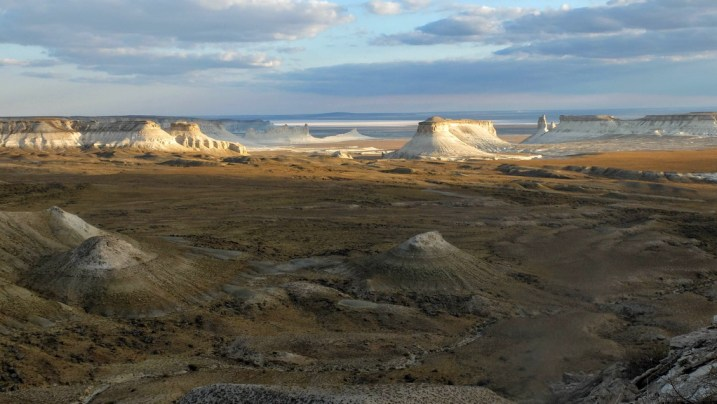 Kasachstan Expedition: Bossjira Felsmassiv
