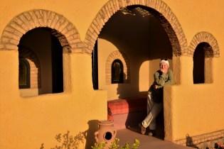 Gästehaus am Fuße des Jebel Berkal