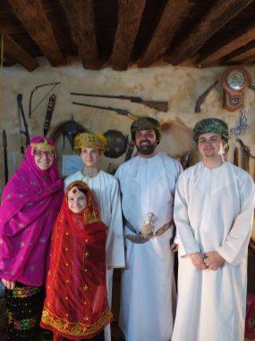 Familienreise in Oman