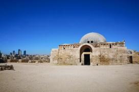 An der Zitadelle in Amman