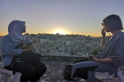 Sonnenuntergang in Amman