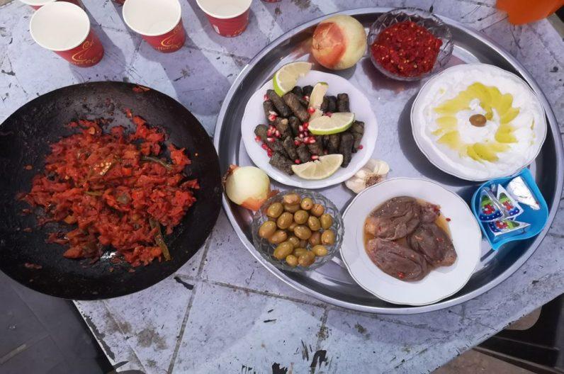 jordanisches Abendessen