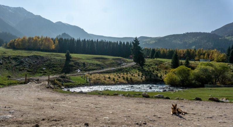 Bergsee Kirgistan