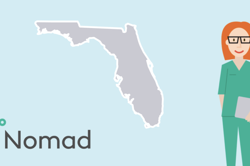 Nomad Health Florida North Carolina Travel Nursing
