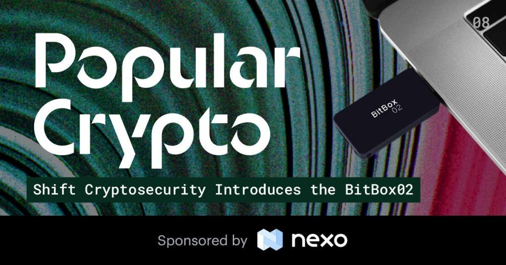 Popular Crypto Issue 8 - Shift Cryptosecurity Introduces the BitBox02