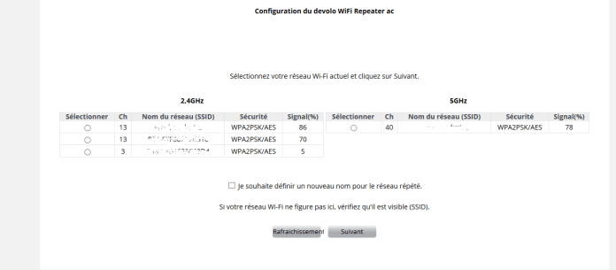 WIFI5 Devolo WIFI Repeater ac